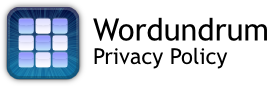 Wordundrum Privacy Policy